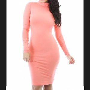 Forever 21 Long Sleeve Bodycon Dress
